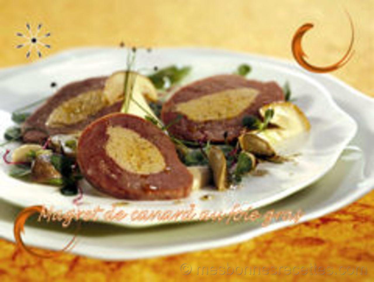 Magret-de-canard-au-foie-gras