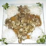 Sanglier aux champignons de Paris