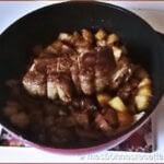 Rôti d'échine de porc en cocotte