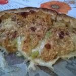 tarte aux courgettes et fromage de chèvre