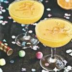 Champagne façon mimosa