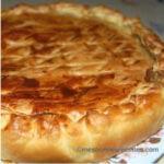 Tourte jambon fromage fondu