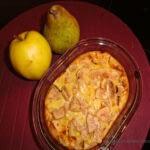 Clafoutis Pomme-Poire