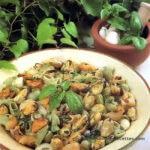 Salade de pâtes aux moules