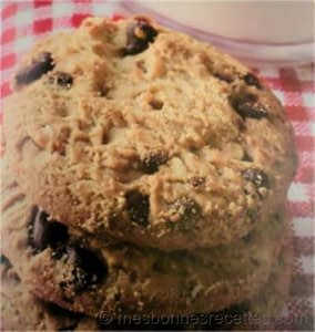 Cookies aux éclats de chocolat