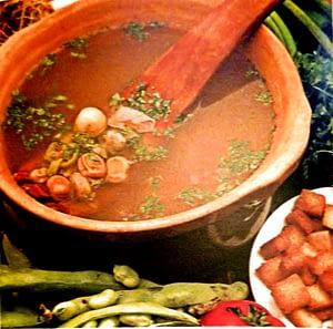 Soupe aux fèves fraîches