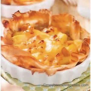 Tarte-crêpe aux pommes