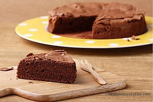Gâteau au chocolat et miel noisettes