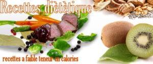 recettes diététiques