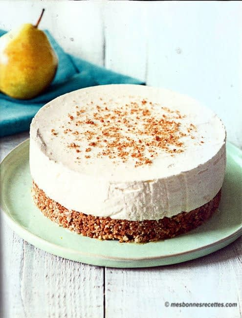 Cheesecakes poire et spéculoos