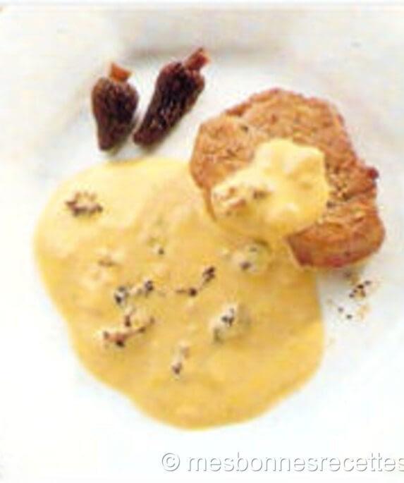 sauce crème aux- morilles