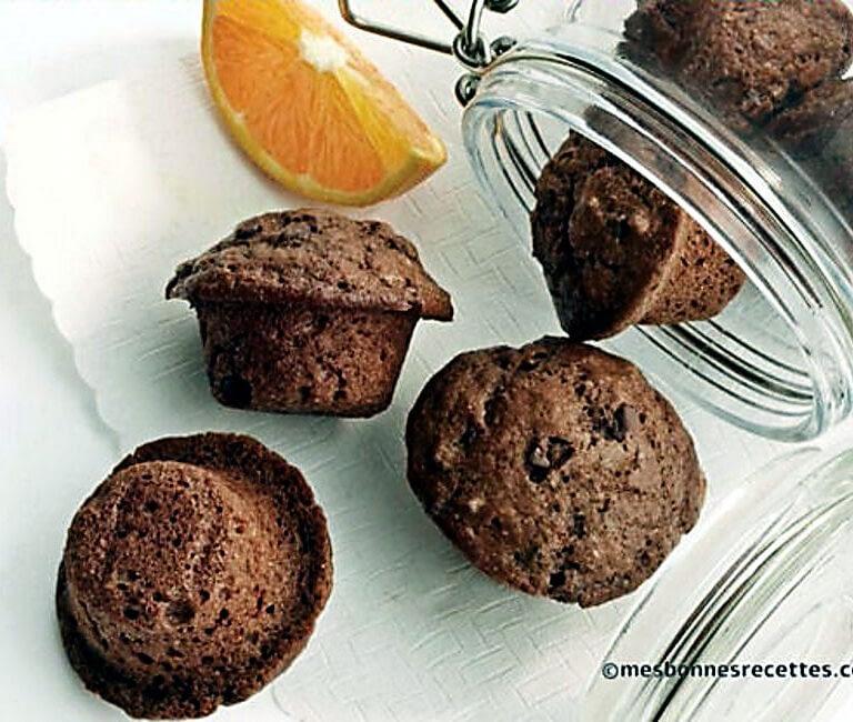 Muffins miniatures à l'orange
