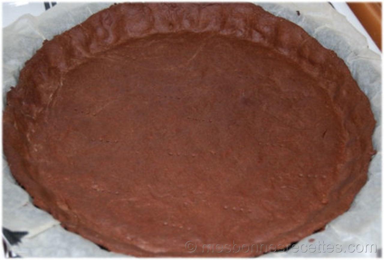 pate a tarte chocolatee