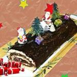 Buche de Noël au chocolat