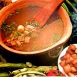 soupe aux fèves fraiches