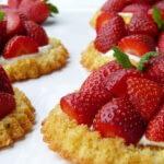 tarte sablée bretonne aux fraises