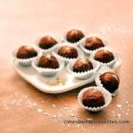 Truffes aux deux chocolats