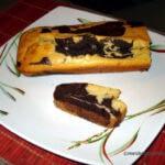 Marbré au chocolat