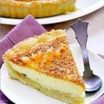 tarte a l orange et noisettes caramelisees
