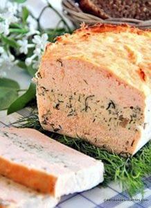 Terrine fraicheur au saumon et aneth