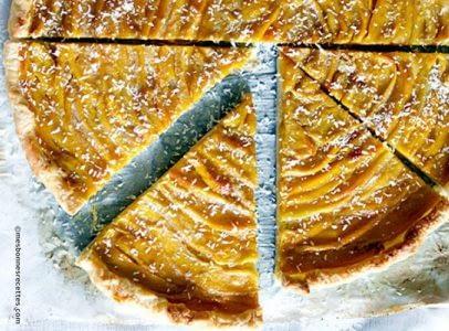 tarte a la mangue et noix de coco
