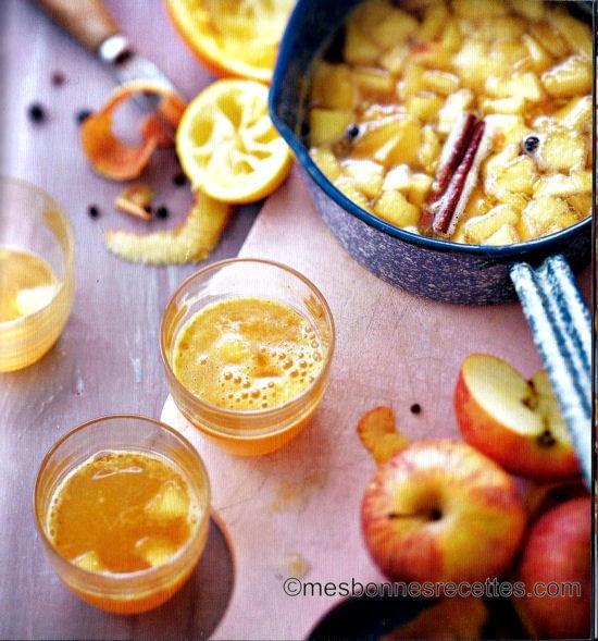 Jus de pomme aux épices